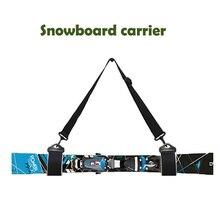Ski et Double porte-Ski bandoulière support détachable sangles fixes ceinture pour planche à Ski rapide et Simple Skis et bâtons