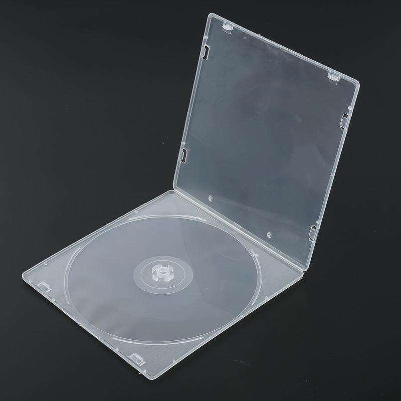 Novo e de alta qualidade 1 * nova chegada disco cd titular dvd caso de armazenamento vcd organizador saco plástico caixa manga exterior organizador durável
