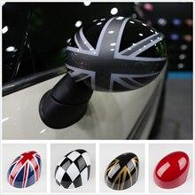 2 Stuks Side Wing Mirror Cover Cap Trim Voor Mini Cooper R Serie R50 R53 R52 2000-2008 Fashion decoratie Auto Decal Accessoires