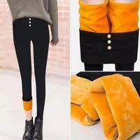 winter leggings girls warm pants children plus velvet pants for kids baby thicken long trousers leg opening pants skinny ra o5w9