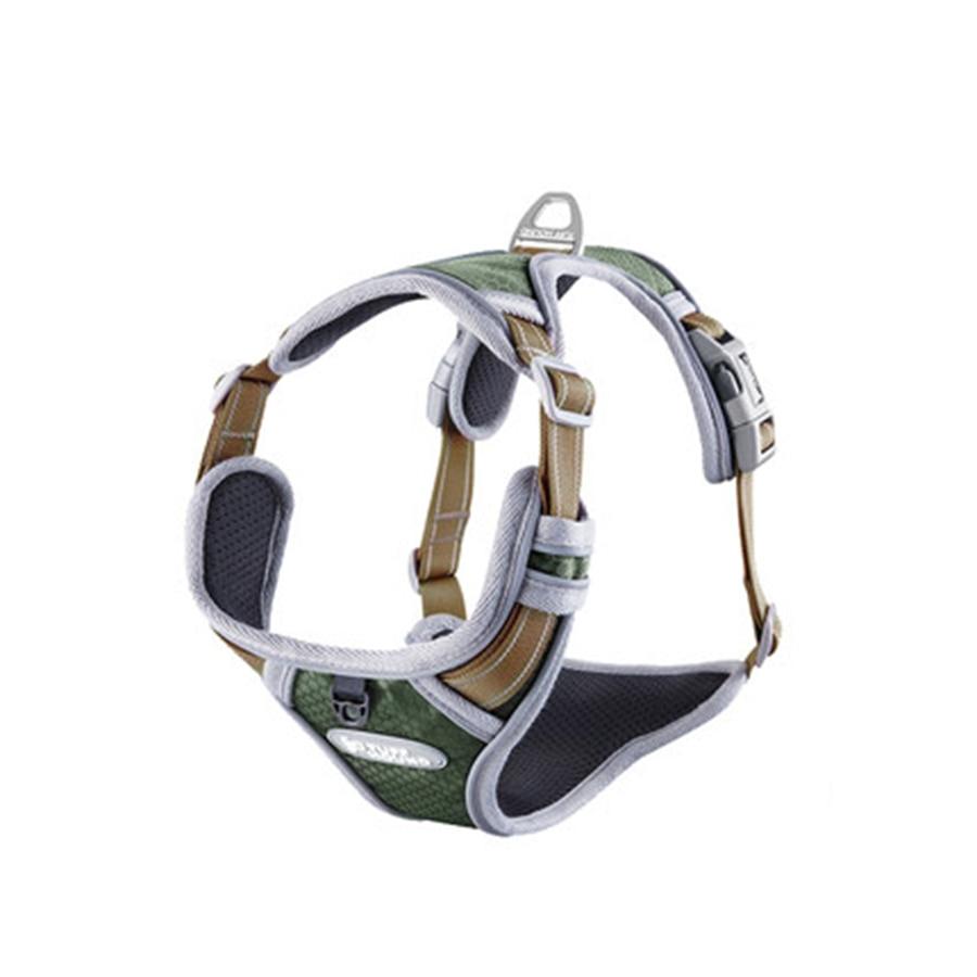 Large Adjustable Dog Harness Vest Soft K9 No Pull Reflective Collar Mesh Night Safety Perro Accesorio Beagle Golden Dog DD55XQ