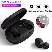 A6S TWS Noise Cancelling Headsets Wireless Bluetooth Earphone Headset with Mic Stereo Handsfree Head
