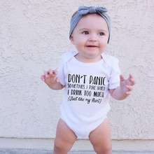 Funny Newborn Baby Bodysuits Onesies Cotton Newborn Baby Boys Girls Rompers Outfits Mommy Gift