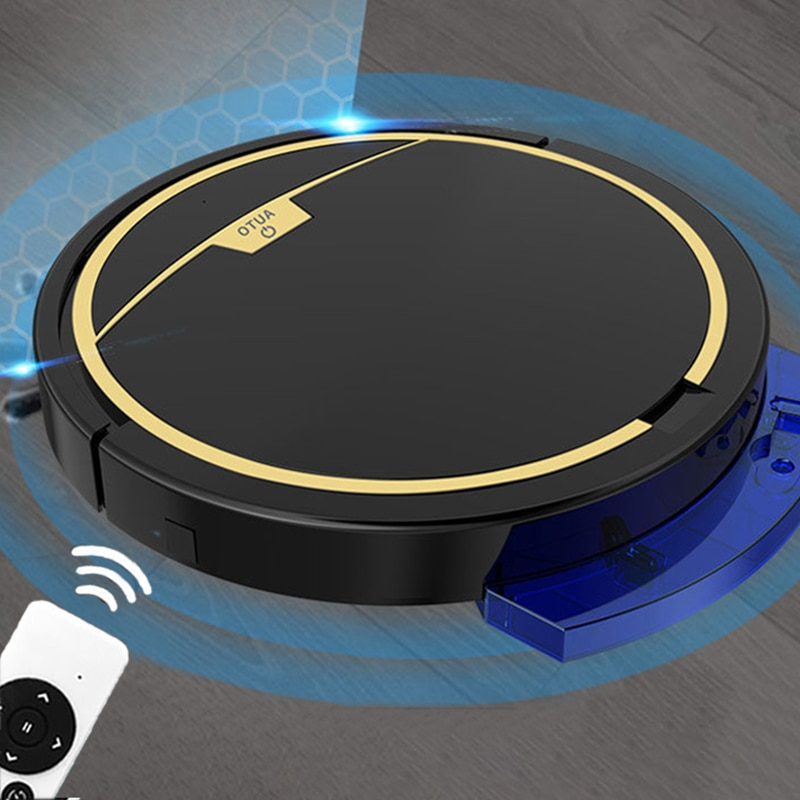 2800Pa Robot Vacuum Cleaner Wet and Dry Vacuum Cleaner Mop with Water Tank Remote Control Timing Smart Carpet Cleaner SH15