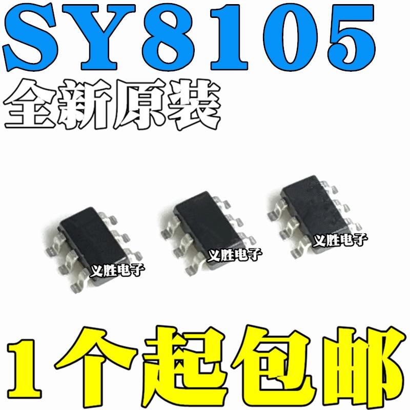 Original novo 5 pces/sy8105adc ny SOT23-6 ic
