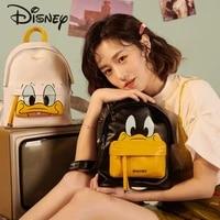 disney 2021 new cartoon cute donald duck luxury ladies backpack large capacity travel backpack multifunctional girls school bag