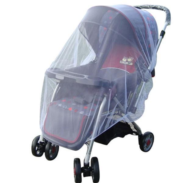 Bonito Crianças Carrinho De Bebê Carrinho de Bebé Mosquito Net Seguro Malha Buggy
