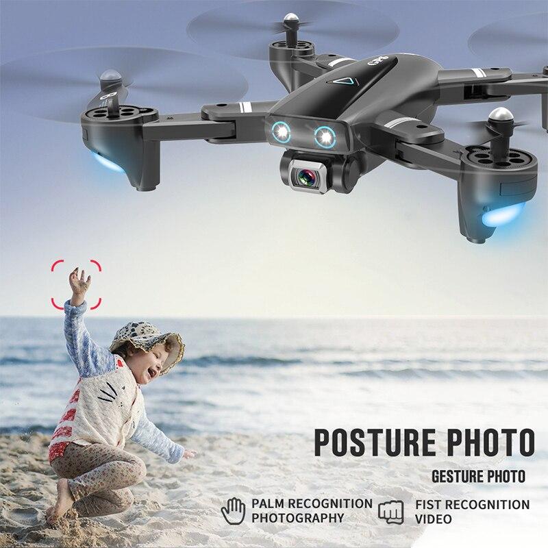 S167 RC Drone GPS 4K Quadcopter con 4K/1080P 5G WiFi FPV HD Cámara gran angular plegable Quadrocopter Dron VS E58 SG906 F11 XS812