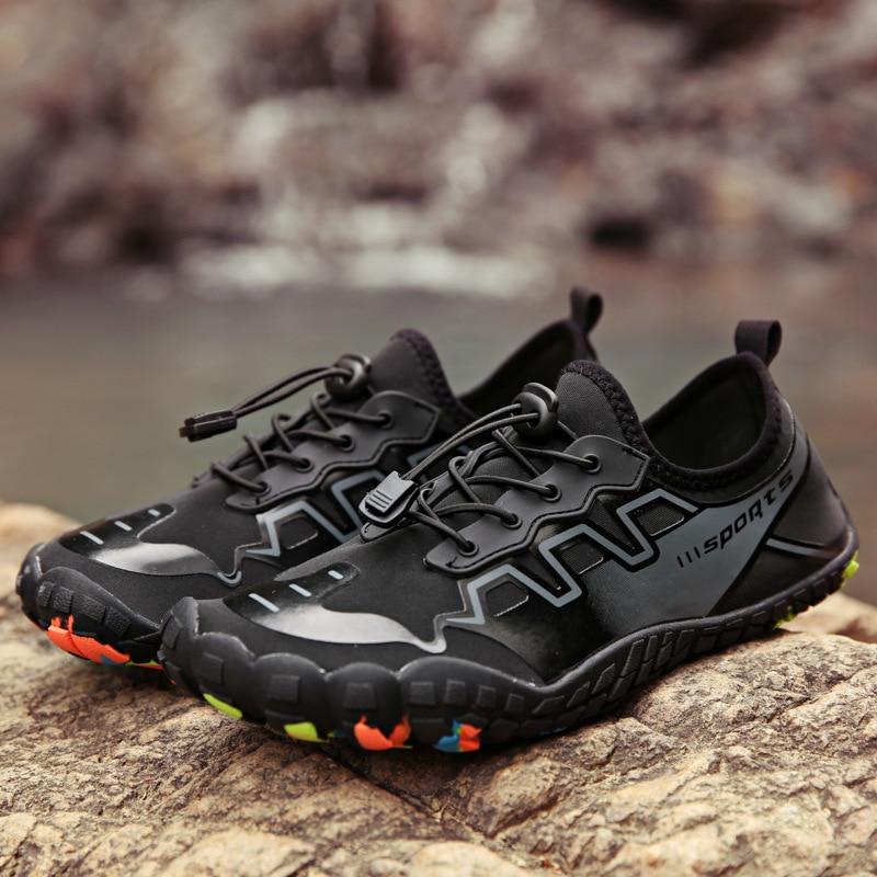 Five-Finger Plus Size Upstream Men's Shoes Wading Couple Shoes Female Snorkeling Outdoor Sports Divi