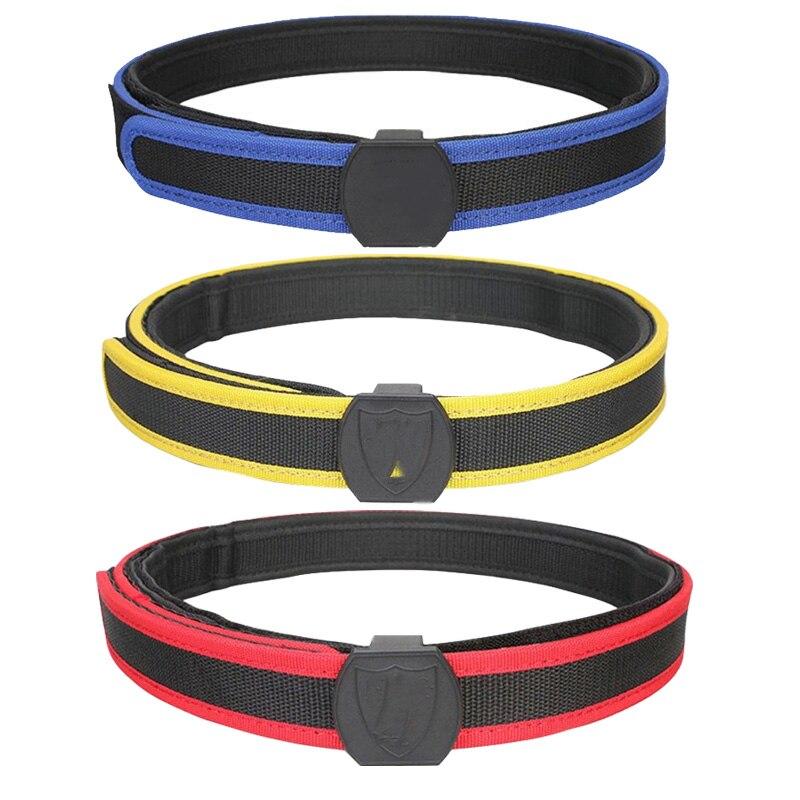 Cinturón de combate táctico IPSC cinturón de cintura Soporte ajustable 1,5 pulgadas cinturón militar caza tiro Paintball equipo de competición deportiva