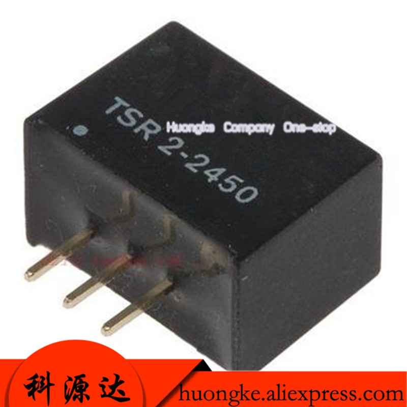 5pcs/lot TSR 2-2450 in-line SIP-3 TSR2-2450 isolated power supply module