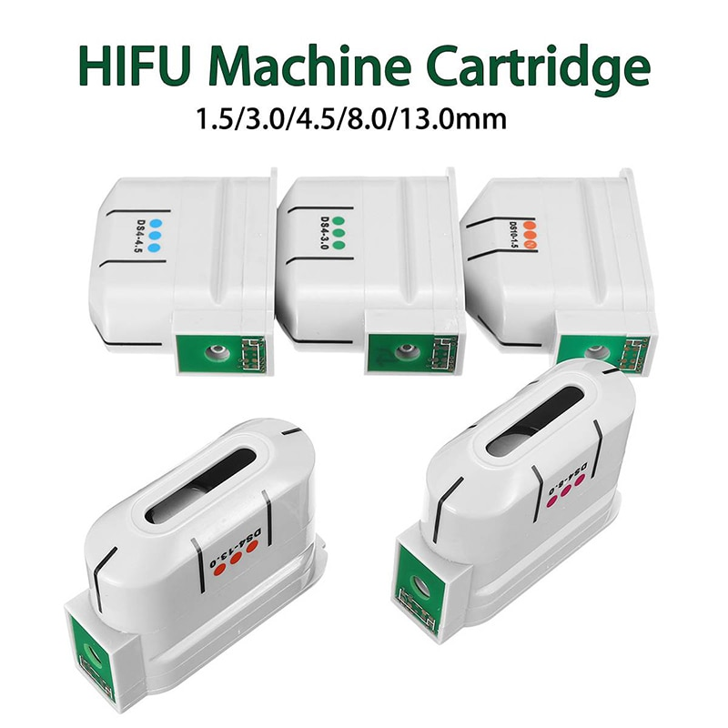 2021 HIFU Machine Ultrasound Face 10000 Shots Exchangeable Facial Body Cartridge/Anti Aging HIFU Transducer