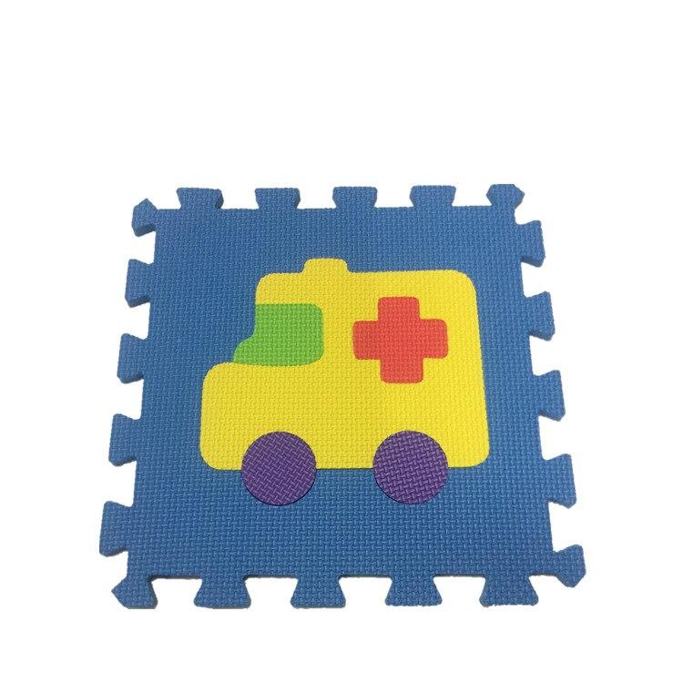 Estera para niños respetuosa con el medio ambiente Eva, estera de tráfico impresa, logotipo personalizable