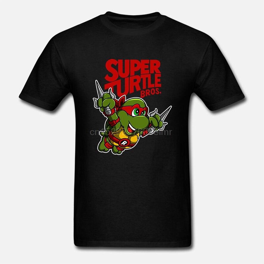 Men t shirt Short sleeve Super Turtle Bros   Raph Unisex T Shirt Women t-shirt tee tops