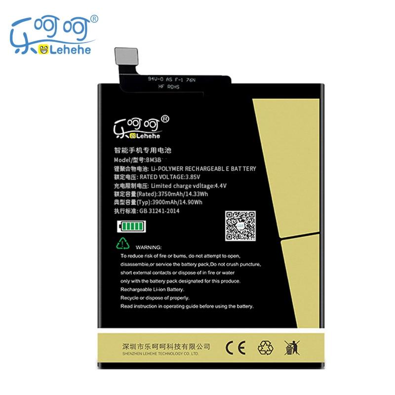 LEHEHE-batería Original para Xiaomi MIX2 MIX2S BM3B, 4000mAh, batería de repuesto de...
