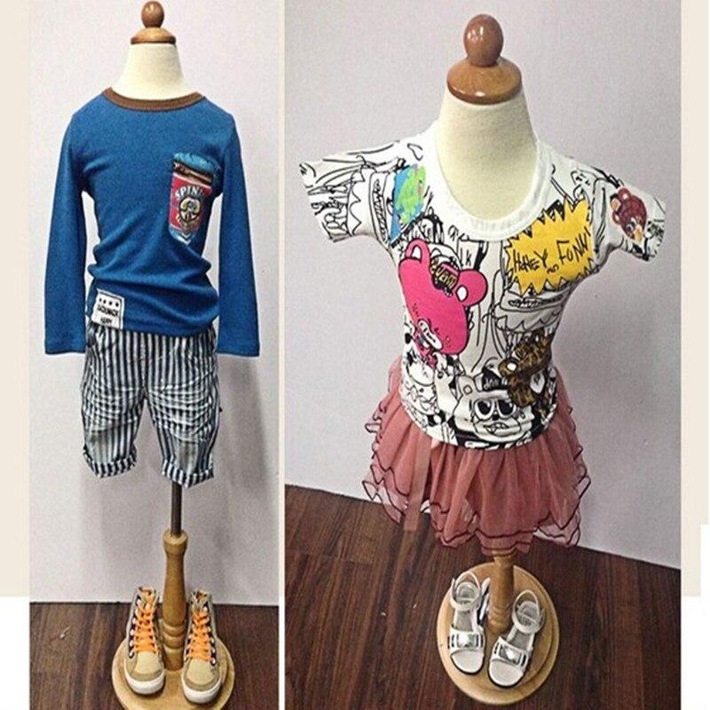 جسم عارضة أزياء للأطفال قابلة للتعديل من 3 إلى 4 سنوات ، ملابس ، نموذج دمية ، جسم ناعم ، نموذج فستان ، قاعدة مستديرة M00043A