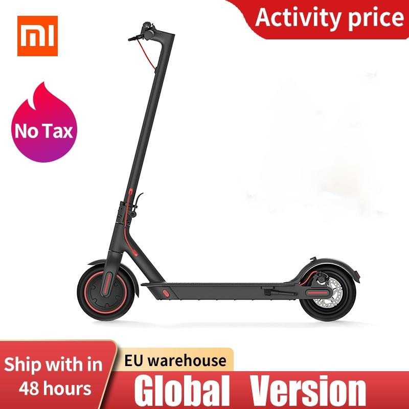 Оригинальный Xiaomi Mijia электрический скутер Pro приложение управление Ховерборд Умный складной Mi скейтборд KickScooter 45 км 12800mAH батарея