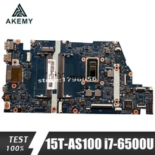 Akemy 859288-601 UMA w i7-6500U CPU для For HP ENVY Notebook 15-as Series 15T-AS100 PC материнская плата протестирована