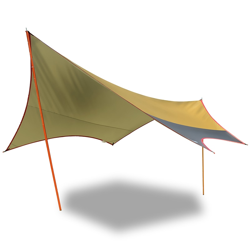 L 560*550*240cm Vidalido al aire libre ultra grande recubierto de plata toldo tienda anti-ultravioleta playa toldo tienda de camping