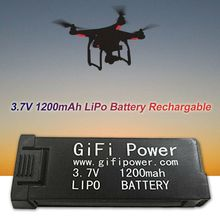 Power Lipo Batterij 3.7V 1200 Mah Vervanging Elektronische Voor JY019 S168 E58 M68 X6HA