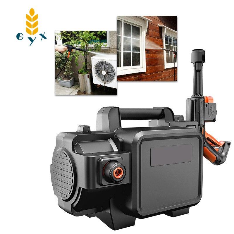 Bomba de agua portátil para coche con cepillo de alta potencia 1400W, lavadora portátil, lavadora de coche de alta presión