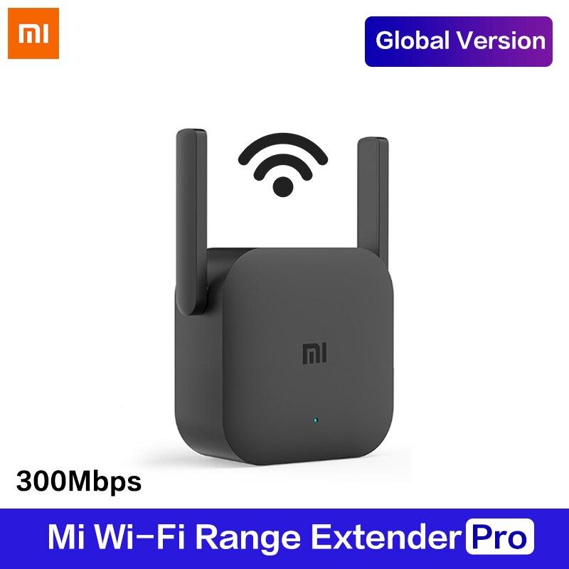 Versión Global Xiaomi WiFi Router amplificador Pro Router 300M 2,4G red expansor repetidor potencia extensor antena hogar Oficina