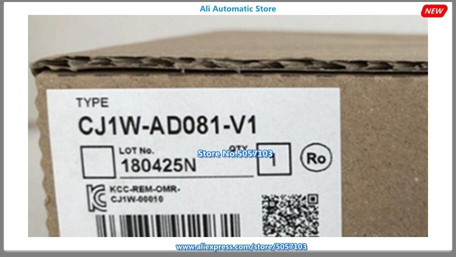 CJ1W-AD081-V1 جديد الأصلي PLC I/O 8 نقطة وحدة الإدخال