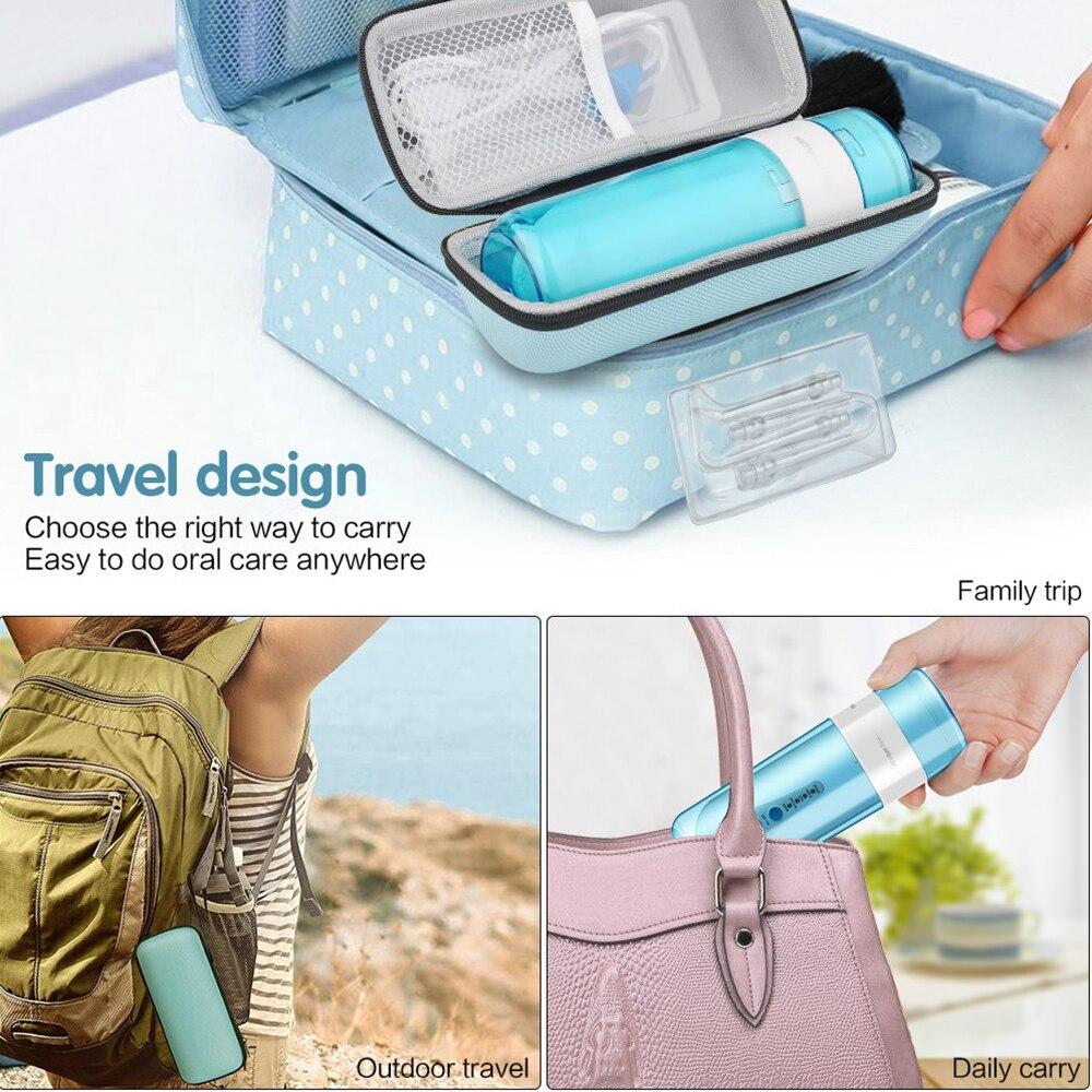 Oral Irrigator USB Rechargeable Water Flosser Portable Dental Water Jet Floss 150ML Water Tank Waterproof 4 models Teeth Cleaner enlarge