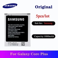 5pcslot newest original battery b185be 1800mah for samsung galaxy core plus sm g350 g350f high quality replacement batteria