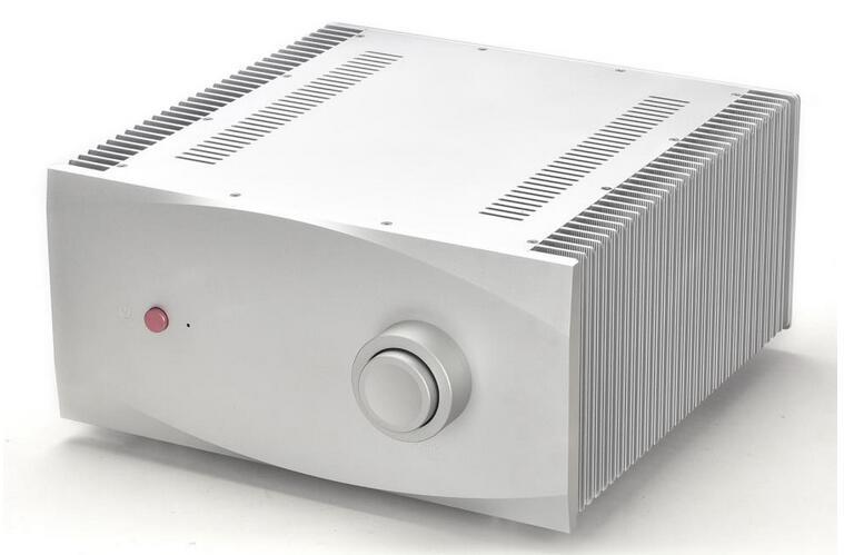 BZ4320 All Aluminum CNC Precision Amplifier Chassis Large Class A Audio Amp Case DIY Box 430*200*418MM