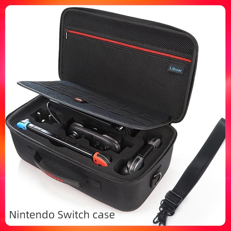 aliexpress.com - Bag for Nintendo Switch Portable Travel Protective Hard carrying case Soft Lining nintendo switch case Console & Accessories