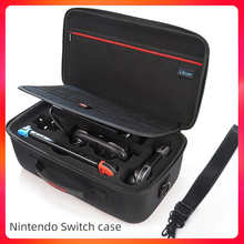 Bag for Nintendo Switch Portable Travel Protective Hard carrying case Soft Lining nintendo switch case Console & Accessories