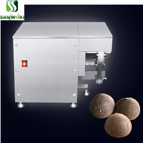 Descascaradora de coco viejo, máquina peladora de cáscara de coco tierno, máquina descascaradora de cáscara dura, máquina peladora de coco
