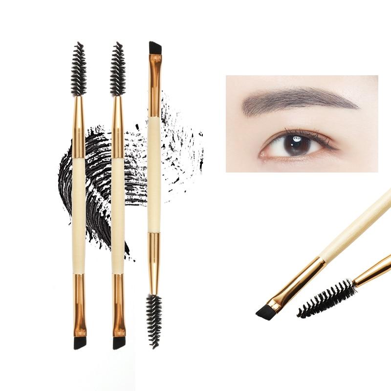Кисти для ресниц + гребень для бровей косметические кисти профессиональные кисти для макияжа для бровей кисти для наращивания ресниц инстр...