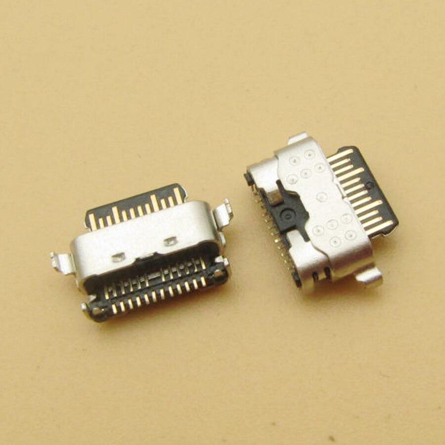 5 pçs para samsung galaxy a11 a115f usb carregador de carregamento doca porto plug conector soquete