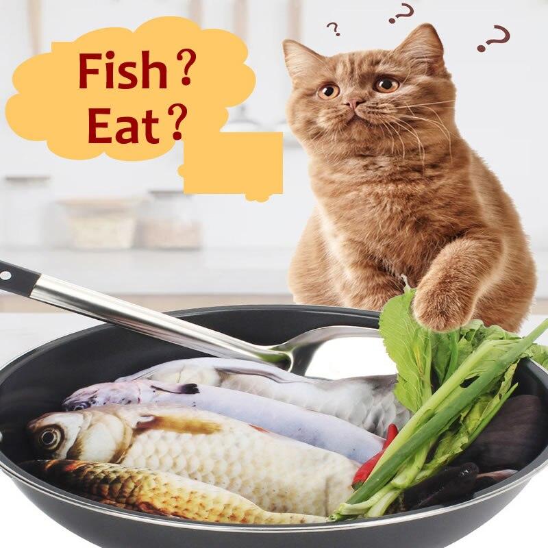Juguete de peces para gato, simulación electrónica USB, pez para gato, juguete de felpa, movimiento 3D interactivo realista, juguete para gato grande de 30cm
