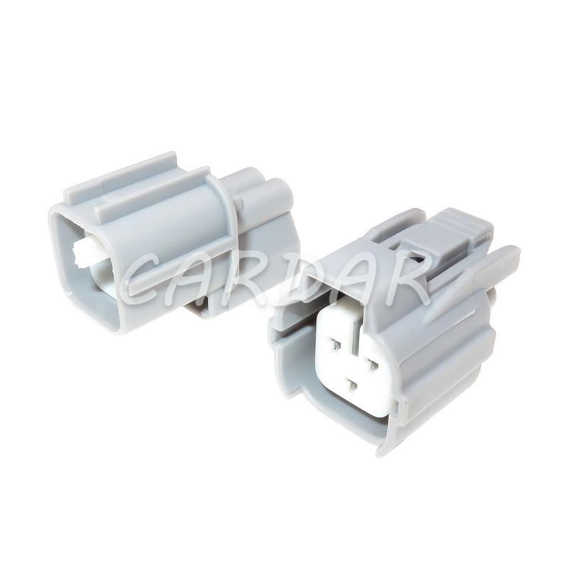 shhworldsea 1set 2pin female male turn light plug for lamp socket for car sensor connector for auto truck for peugeot 1 Set 3 Pin 6189-0131 Auto Car Connector Automotive Plug Camshaft Sensor Socket For Toyota