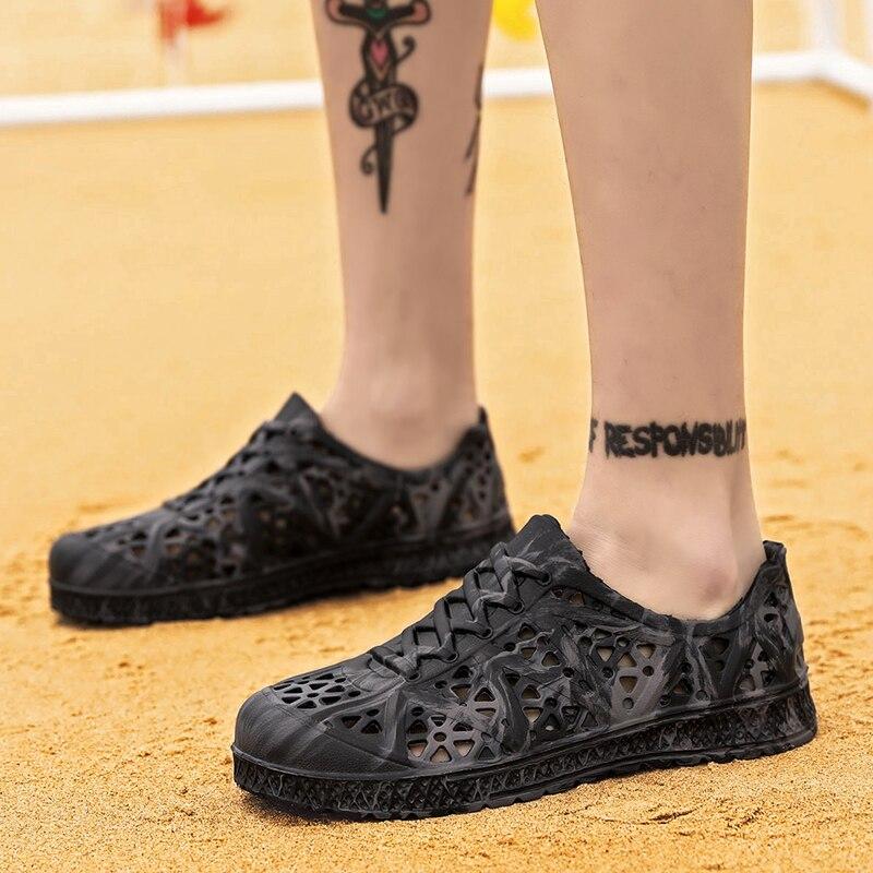 UNN Sandalias para hombres vasijas de zapatos de EVA Sandalias de verano chinelas zapatos para la playa zapatos de mujer resbalón en Sandalias zapatillas de deporte 2020