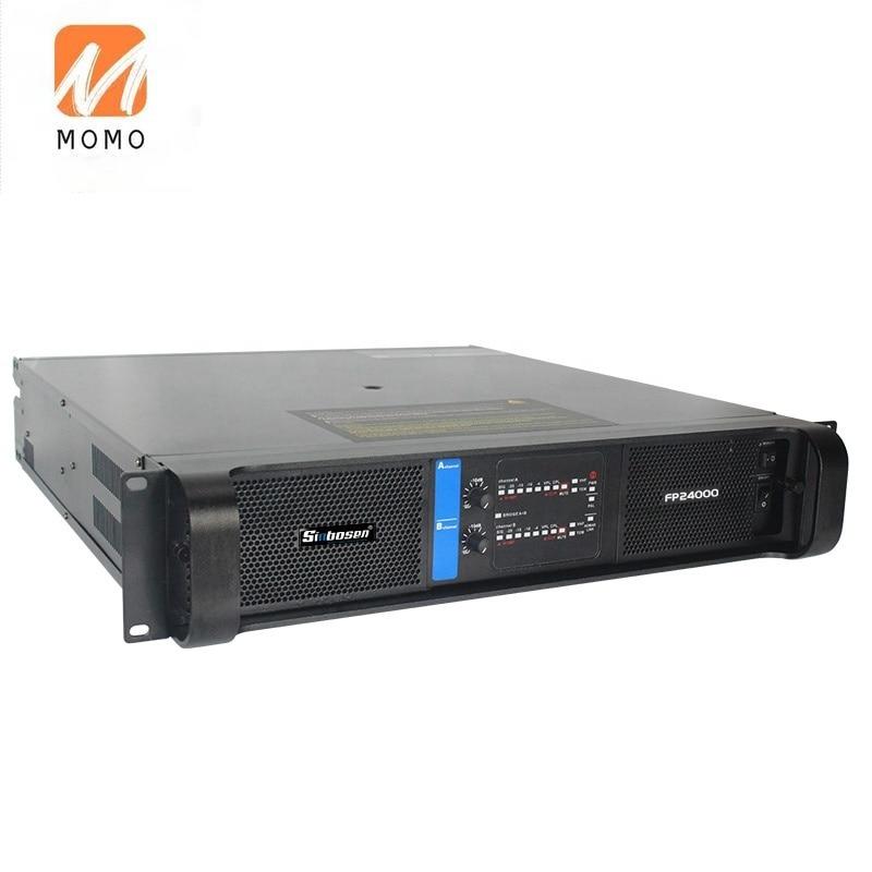 Amplificador de sonido profesional FP24000, 4000 vatios