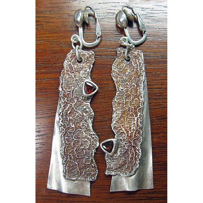Винтажные серьги, пилообразный нож, клипсы для ушей, длинные серьги для женщин, индийские серьги без ушей, серьга дырка, ювелирные изделия Z3D381