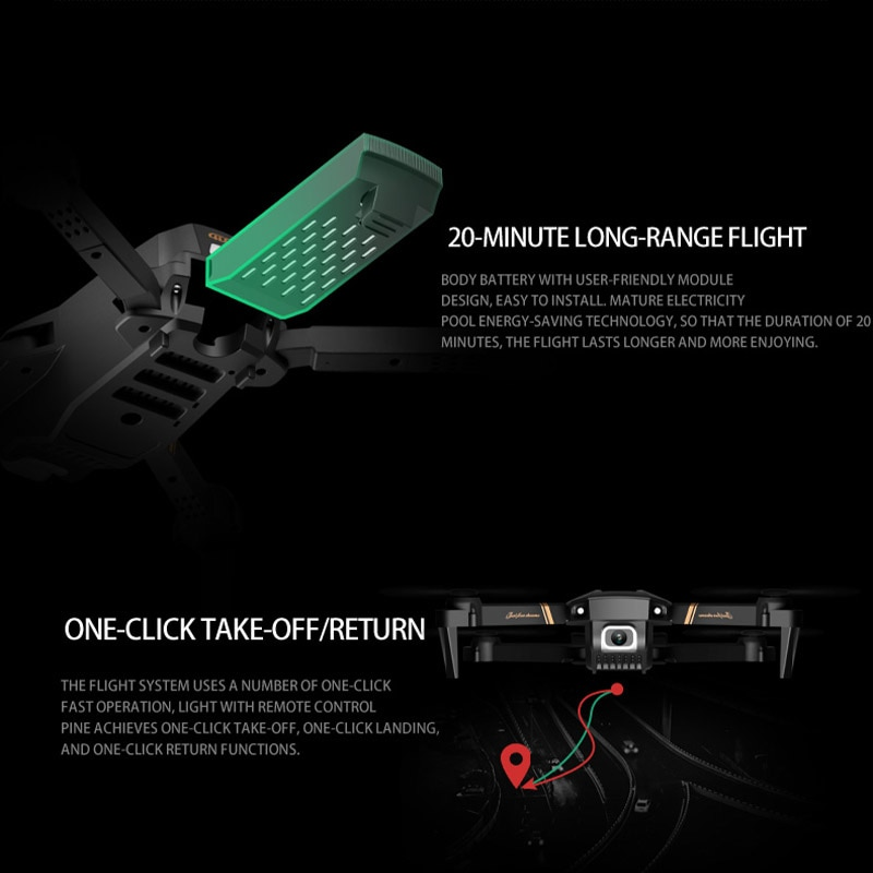 2021 NEW RC Drone 4k  HD Wide Angle Profesional Camera  4k  WIFI Live Video FPV 4K 1080P Drones  Toys For Children enlarge