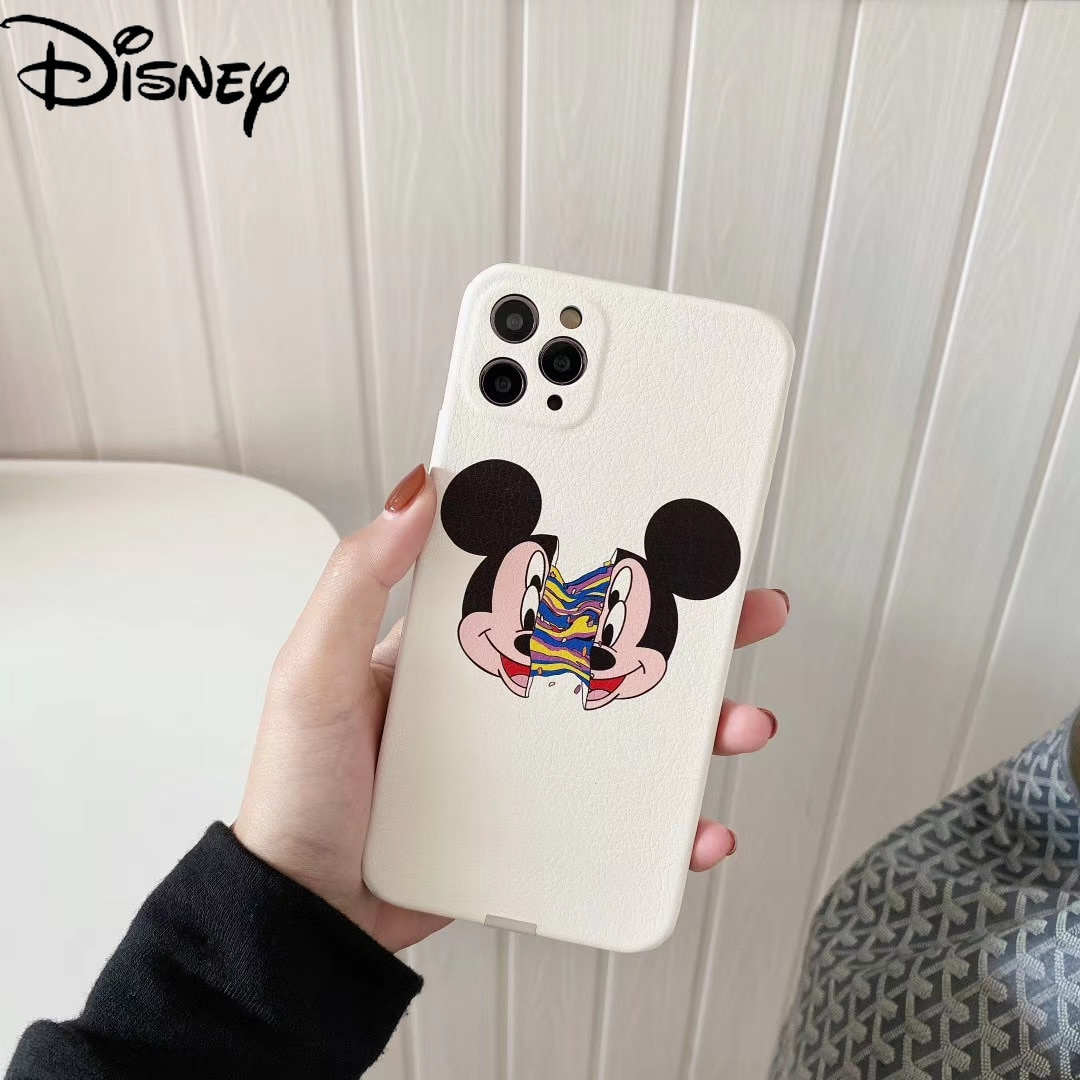 Disney Phone Case for IPhoneX/XR/7P/XsMax/x/xs/se/7/8/12 Phone Cover for Iphone 11 Pro Case Mickey Phone Cases  - buy with discount