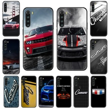 Camaro Car Logo Phone case For Xiaomi Redmi Note S2 4 5 6 7 8 A S X Plus Pro black luxury funda tpu
