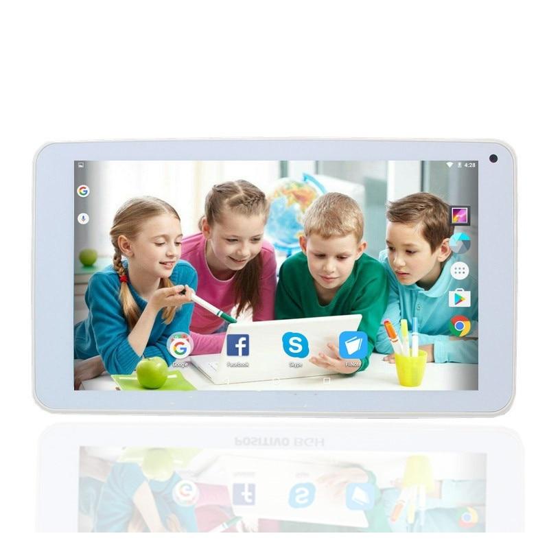 Glavey weiß 7 zoll tablet pc Android 6,0 y700 RK3126 Quad core dual kamera 1GB/8GB Bluetooth wifi 1024x600G Sensor