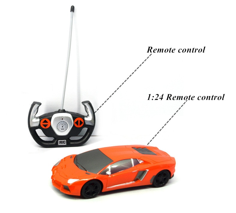 RC Car 4wd 1:24 On Road Racing Two Speed Drift Vehicle Toys Nitro Gas Power High Speed Hobby Remote Control Car