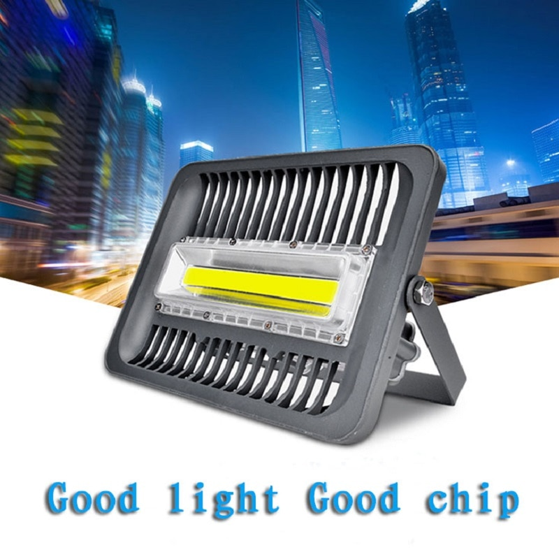 AC110V 220V 30/50/100/150W vatio Real LED inundación Light COB Chip reemplazo impermeable 65 proyector para la seguridad del paisaje del jardín