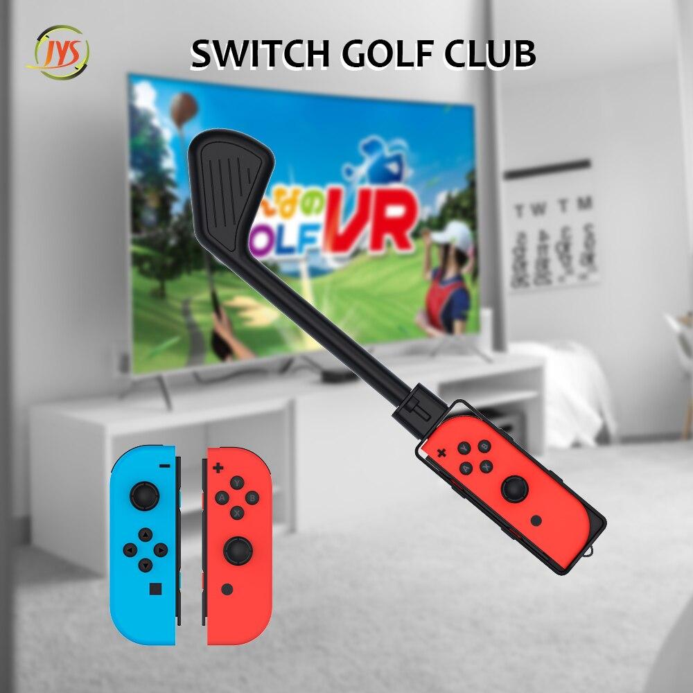 10 قطعة مجموعة تحكم اليد السيطرة Joy-Con مضرب الغولف للتبديل/N-S ل ماريو جولف سوبر راش لعبة اكسسوارات