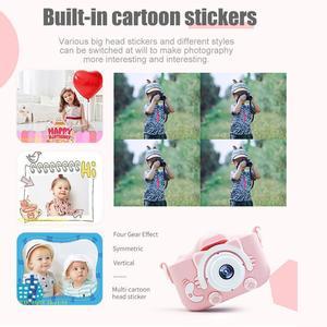 Image 5 - Миниатюрная детская камера 20MP X5S, 2,0 дюйма, IPS экран, HD 1080P, цифровая фотокамера для детей, игрушка с литиевой батареей 600 мАч, подарок на день рождения