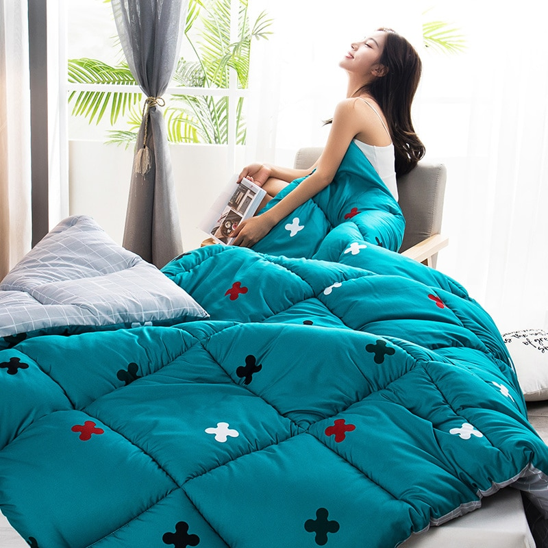 متعدد الألوان اختيار فندق المنزل لحاف بطانية عالية الجودة ستوكات ملء المعزي قابل للغسل لحاف كل موسم أسفل لحاف أفخم