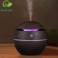 Kinscoter дерево эфирное масло диффузор ультразвуковой увлажнитель воздуха USB увлажнитель для ароматерапии мини туман, тем самым позволяя зерн...